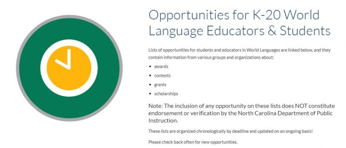 Opportunities for Educators