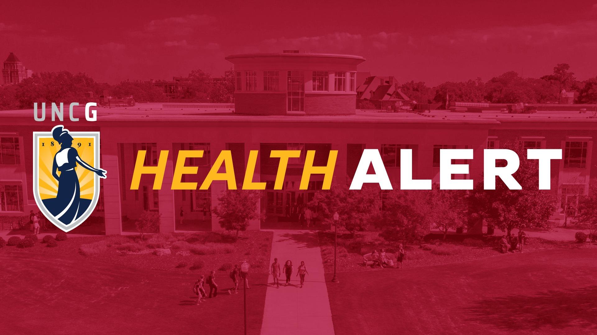 Health Alert flier