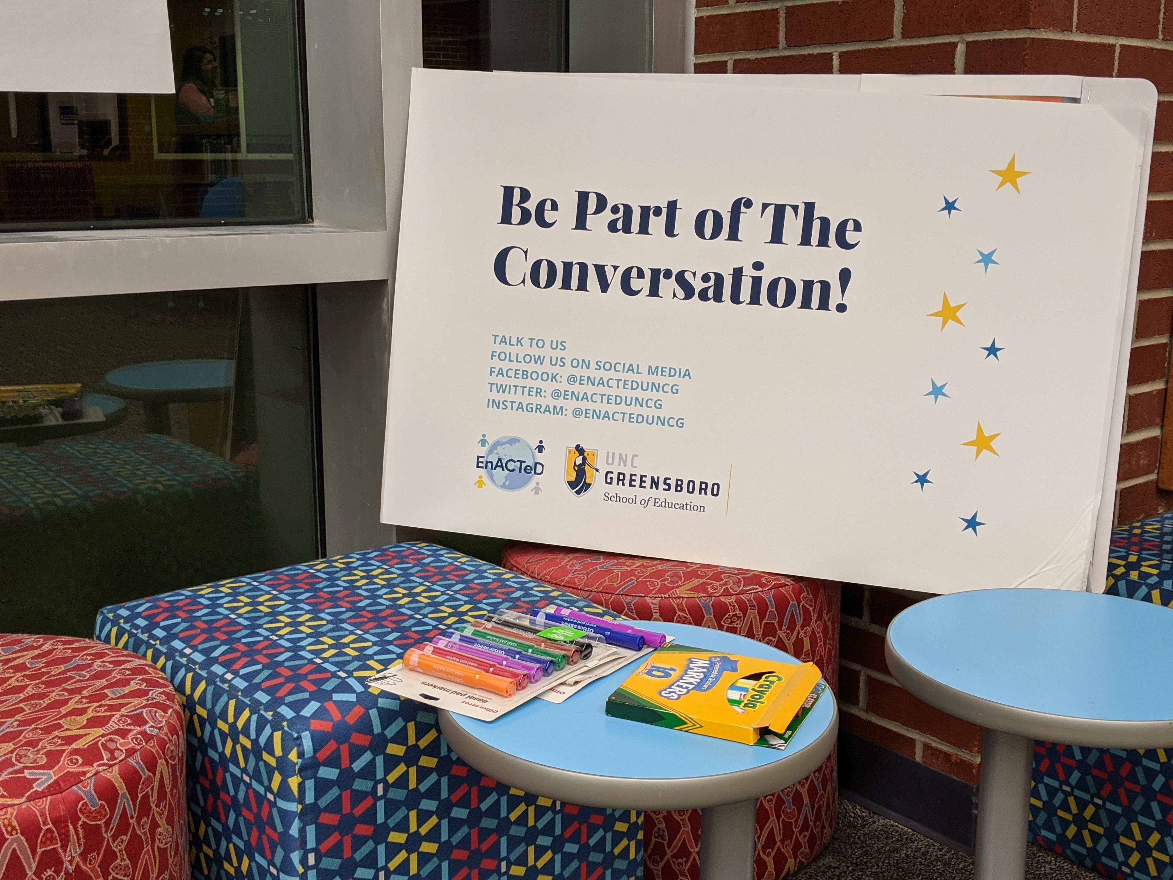 Be Part of the Conversation!